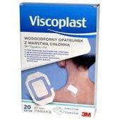 Viscoplast Tegaderm + Pad wodoodporny opatrunek z warstwą chłonną 5 x 7,2cm x 20 sztuk