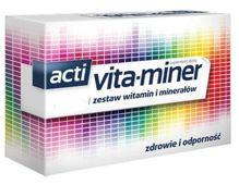 Vita-miner z luteiną x 30 draż.