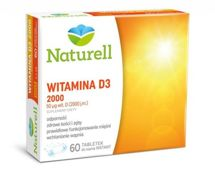 Witamina D3 2000j.m x 60 tabletek do ssania