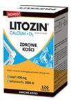 Litozin Calcium + D3 x 120 tabletek