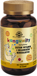 SOLGAR Kanguwity smak owoce tropikalne x 60 pastylek do ssania