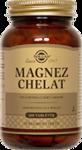 SOLGAR Magnez chelat aminokwasowy x 100 tabletek