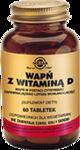 SOLGAR Wapń z Witaminą D3 w postaci cytrynianu x 60 tabletek