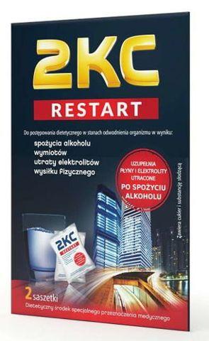 2KC Restart x 2 saszetki