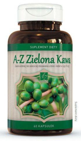 A-Z Zelona Kawa x 60 kapsułek - data ważności 30-06-2019r.