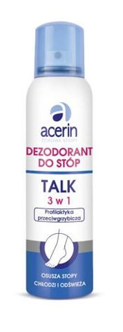ACERIN TALK 3w1 dezodorant do stóp 150ml