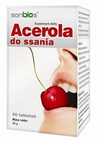 ACEROLA x 60 tabletek do ssania