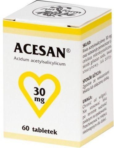 ACESAN 30mg x 63 tabletki