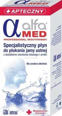 ALFA MED Płyn do płukania jamy ustnej 200ml