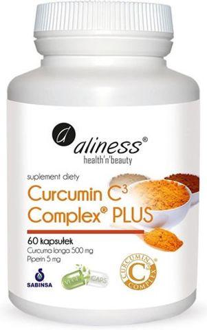 ALINESS Curcumin C3 complex Plus x 60 kapsułek
