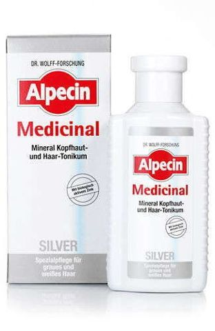 ALPECIN Medicinal Tonik do włosów SILVER 200ml