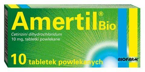 AMERTIL Bio 0,01 x 10 tabletek