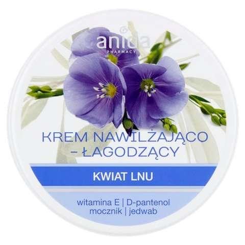 ANIDA Krem nawilżająco łagodzący kwiat lnu 125ml