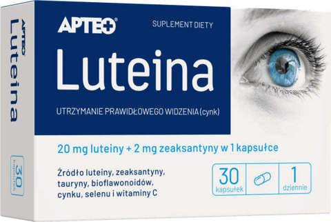 APTEO Luteina x 30 kapsułek