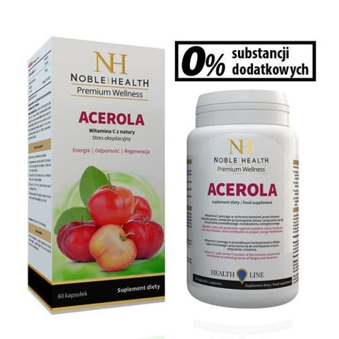 Acerola Noble Health x 60 kapsułek