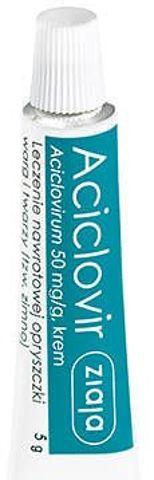 Aciclovir Ziaja krem 5g