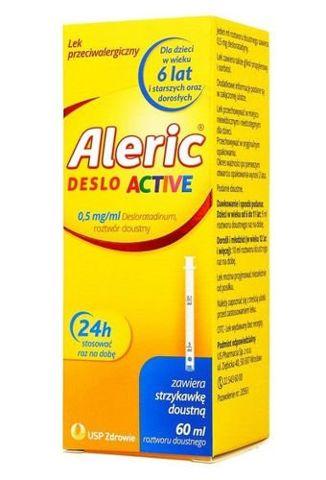 Aleric Deslo Active 0,5g/ml roztwór doustny 60ml