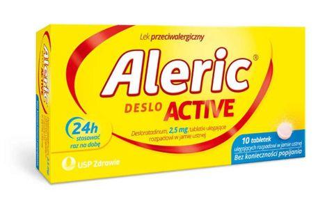 Aleric Deslo Active 2,5mg x 10 tabletek