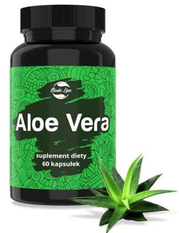 Aloe Vera Noble Health x 60 kapsułek