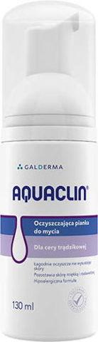 Aquaclin oczyszczająca pianka do mycia 130ml