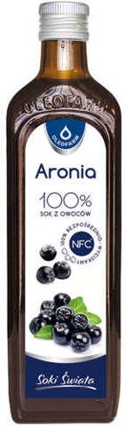 AroniaVital Aronia 100% sok z owoców 490ml