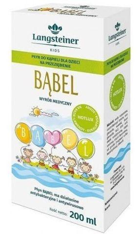 BĄBEL Płyn do kąpieli na przeziębienie dla dzieci 200ml