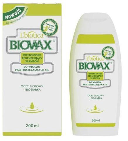 BIOVAX Szampon do włosów przetłuszczających się 200ml