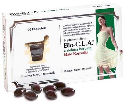 Bio-CLA z zieloną herbatą x 90kaps.
