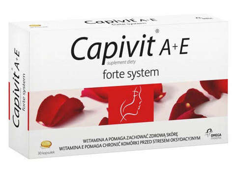 CAPIVIT A+E Zdrowa i Piękna Skóra  x 30 kapsułek
