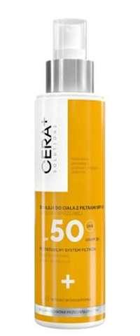 CERA+ Emulsja do ciała z filtrami SPF50 do skóry wrażliwej 150ml - data ważności 31-03-2020