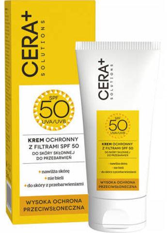 CERA+ Solutions Krem ochronny SPF50 50ml