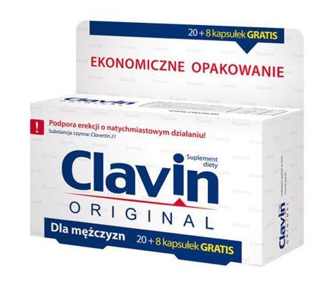 CLAVIN x 20 kapsułek + 8 kapsułek GRATIS