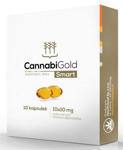 CannabiGold Smart 10mg x 10 kapsułek