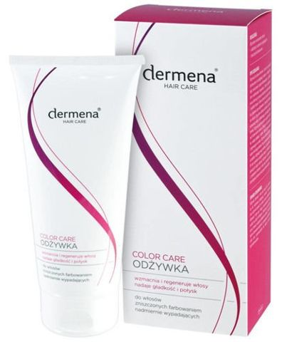 DERMENA Hair Care Color Care odżywka do włosów zniszczonych farbowaniem 200ml