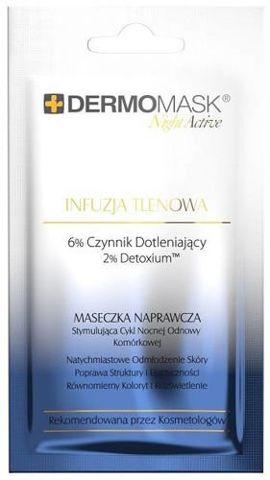 DERMOMASK Night Active Infuzja tlenowa 12ml x 1 saszetka