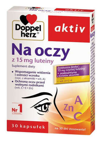 DOPPELHERZ Aktiv Na Oczy x 30 kapsułek