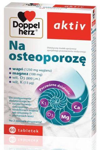 DOPPELHERZ Aktiv na osteoporozę x 60 tabletek