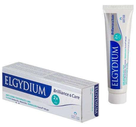 ELGYDIUM Brilliance&Care Pasta do zębów przeciw przebarwieniom 30ml
