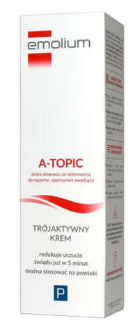 EMOLIUM A-Topic Krem trójaktywny 50ml