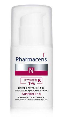 Pharmaceris N CAPINON K 1% krem z witaminą K uszczelniająca naczynka 30ml