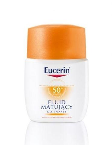 EUCERIN SUN Fluid matujący SPF 50 do twarzy 50ml