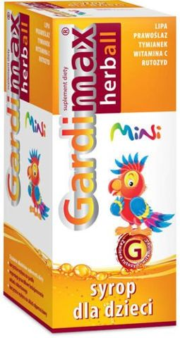 GARDIMAX Herbal Mini syrop dla dzieci 110ml