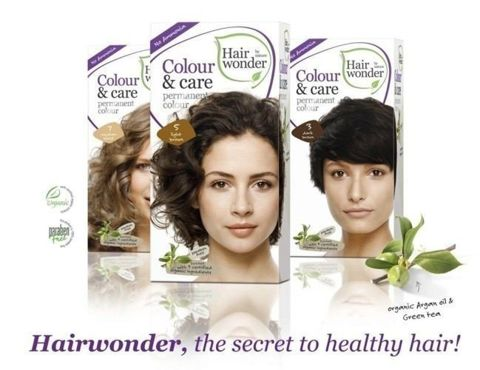 HAIRWONDER Colour & Care Farba do włosów 7-MEDIUM BLOND 100ml