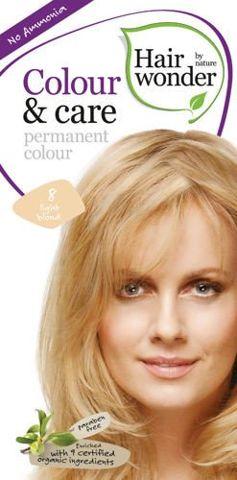 HAIRWONDER Colour & Care Farba do włosów 8-LIGHT BLOND 100ml