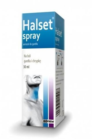 HALSET aerozol do gardła 30ml