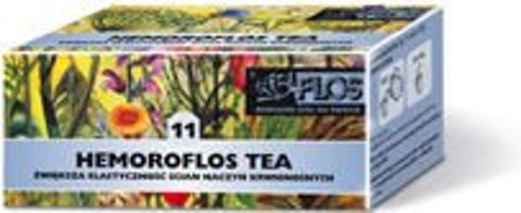 HEMOROFLOS TEA 11 fix 2g x 20 saszetek