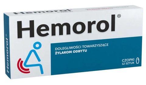 HEMOROL x 12 czopków