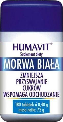 HUMAVIT Morwa Biała x 180 tabl.
