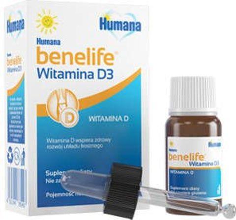 Humana Benelife Witamina D3 5ml