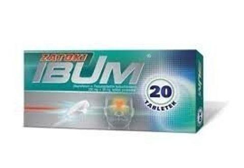 IBUM ZATOKI 200mg+30mg x 20 tabletek